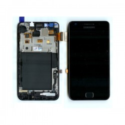 Lcd samsung i9100 (Galaxy S2) avec chassis