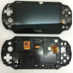 lcd + tactile assemble pour psp vita 2000