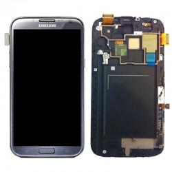 lcd samsung N7105 noir avec chassi